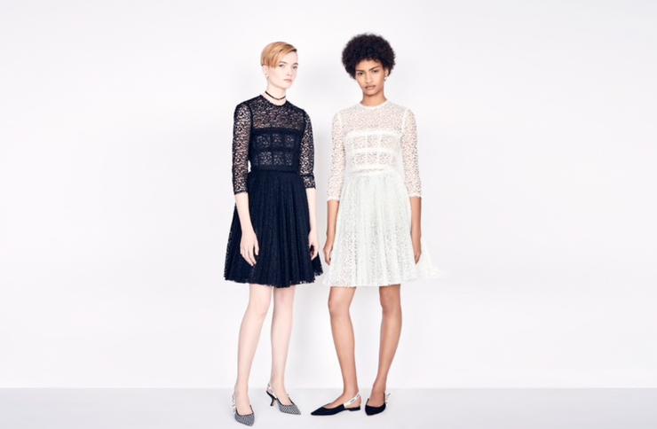 Dior Lace Dress: $6,100