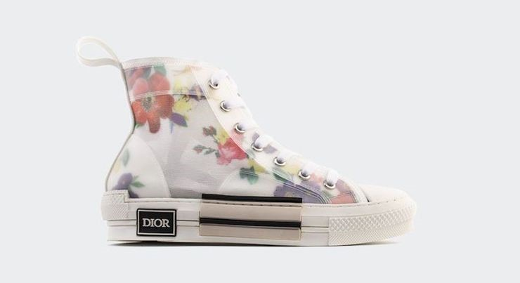 Walk'n'Dior Technical Knit High-Top Sneakers: $1,000